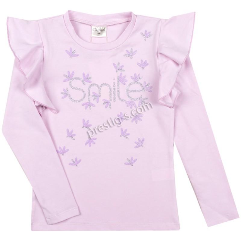 Блуза Smile в св.лилаво /98-158/ м.601 385-1