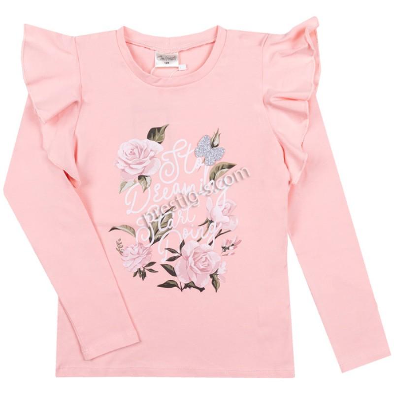 Блуза Рози в розово /98-158/ м.601 385-1-ликра