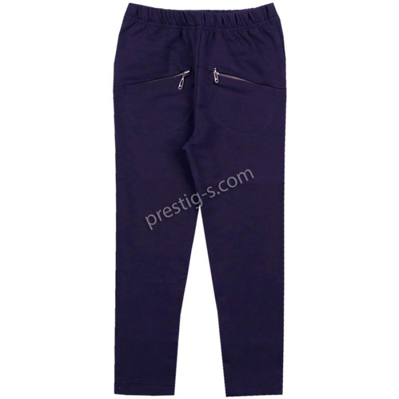 Клин-панталон с джобчета в т.синьо /116-158/ - ликра