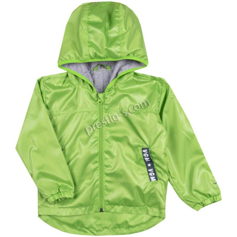 Пролетно яке в зелено /68-116/ с тънка подплата