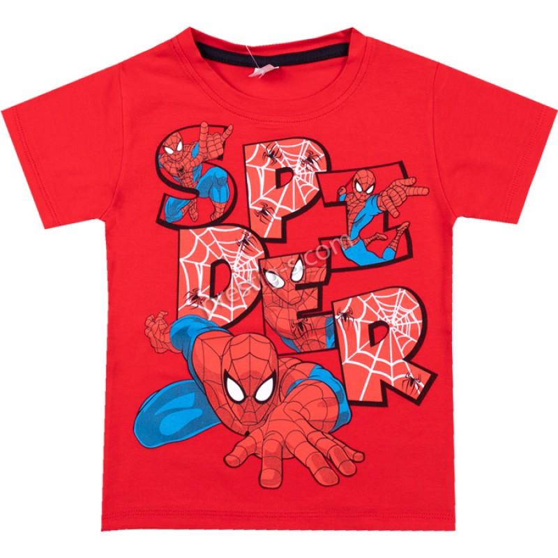 Тениска SPIDE в червено /86-116/ ликра