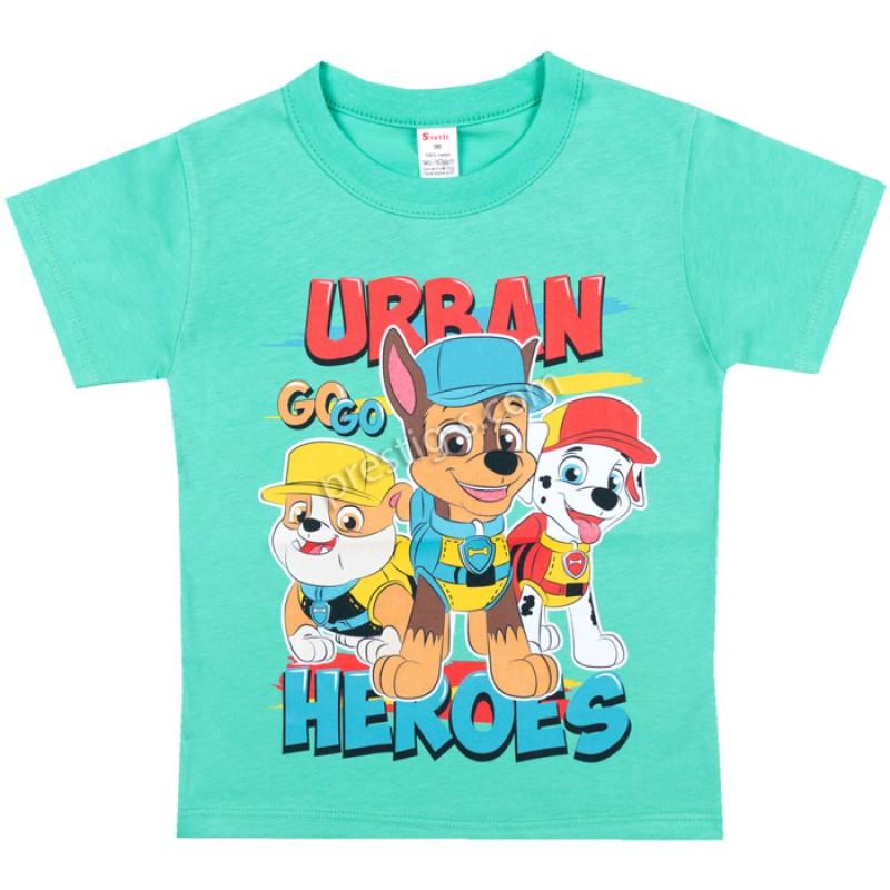 Тениска Urban в мента /86-128/ ликра