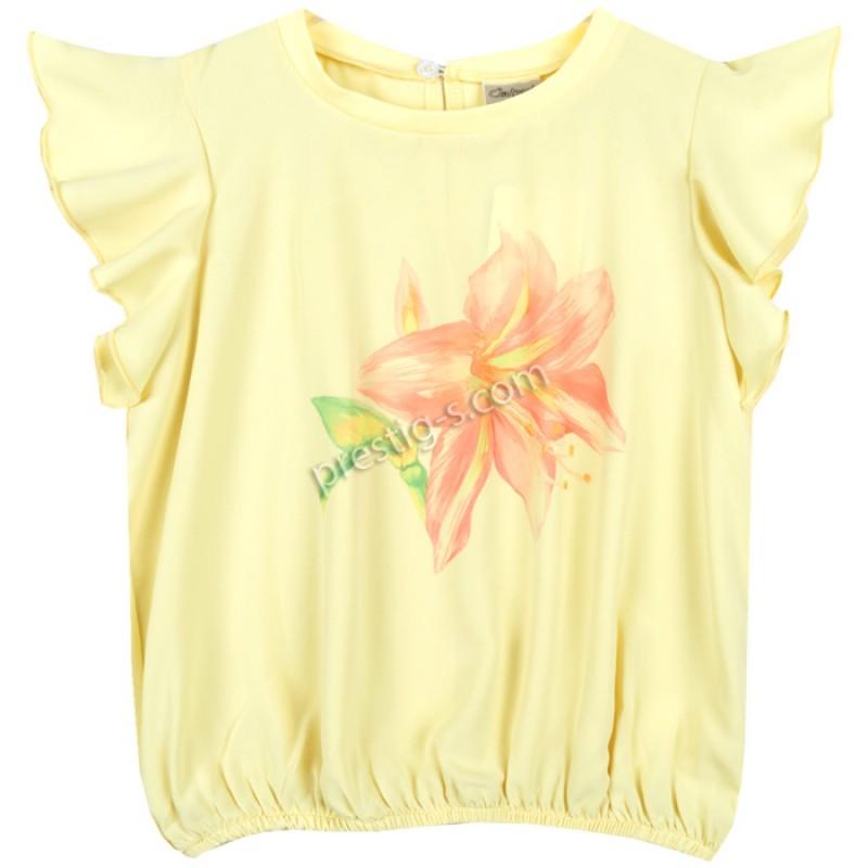 Блуза крилца Цвете в жълто /122-134/ м.601 338-3