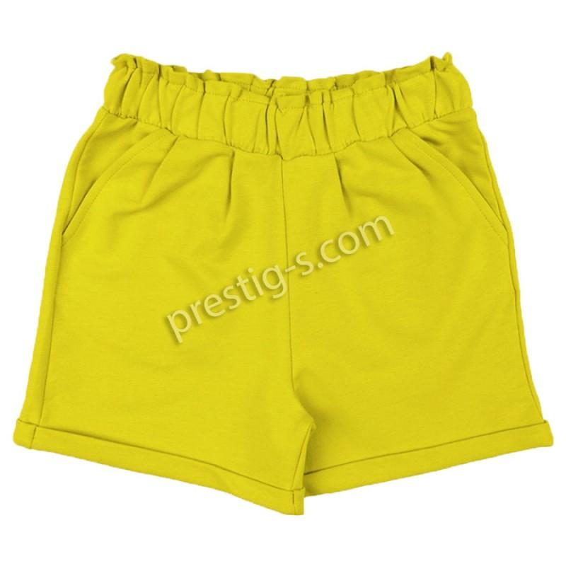 Къси панталонки Момиче м.633 в горчица /104-152/ ликра