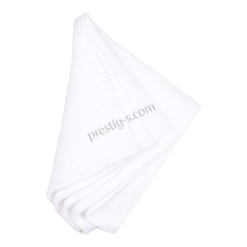 Хавлиени кърпички 20/20 см в бяло