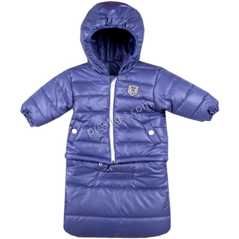 Бебешко яке-чувалче Вега-М в индиго