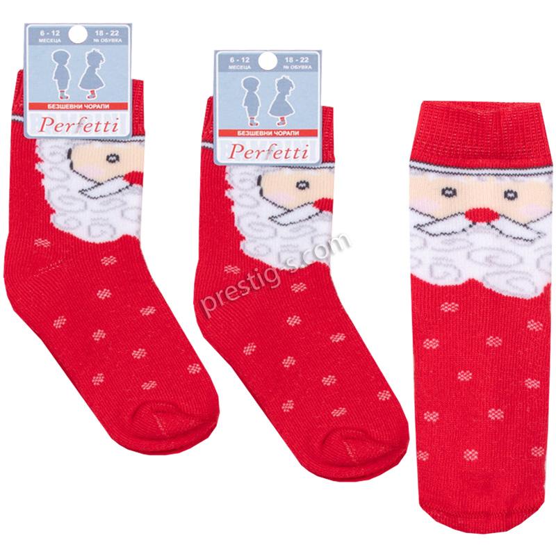 """Коледен Термо чорап къс /безшевен/ - """"К-3 - ДК стар"""""""