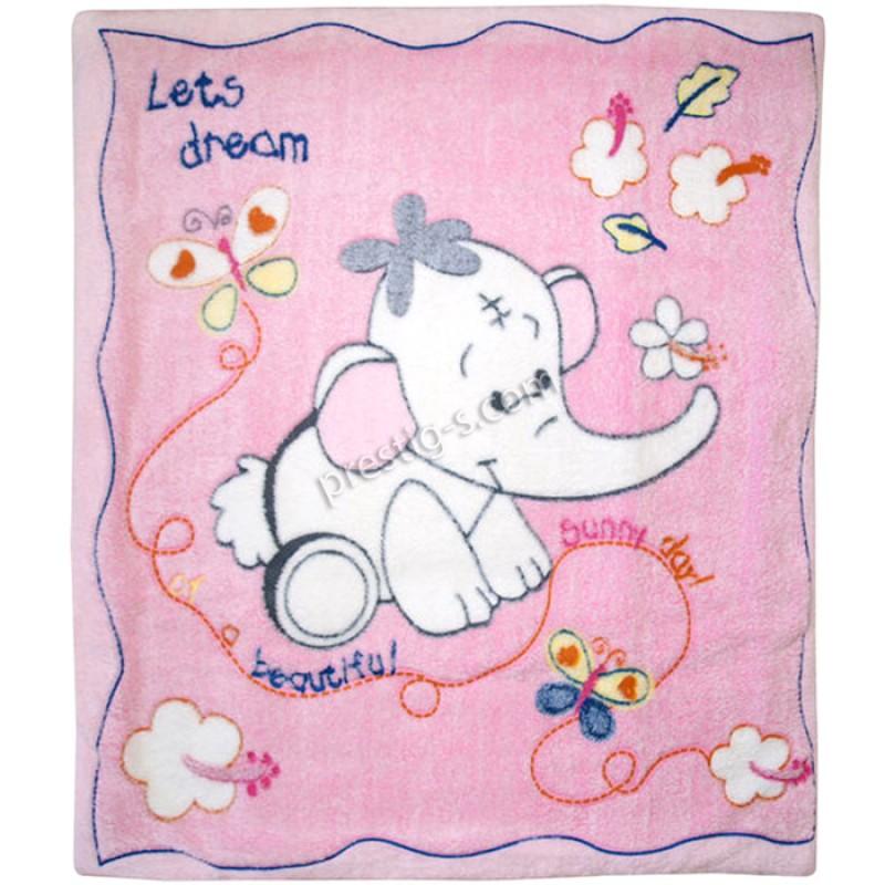 Пелена ко-хавлия Слонче в розово