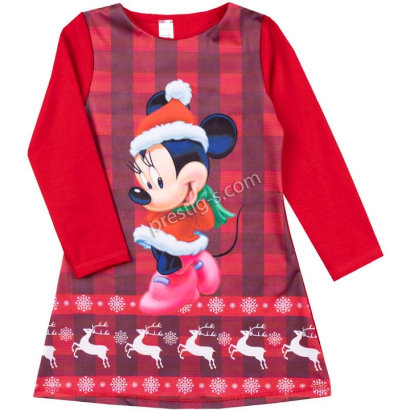 Коледна рокля Момиче /104-128/ л.вата-ликра