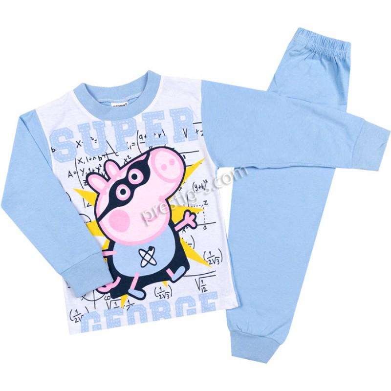 Пижама д.р. Джордж в синьо /80-128/ сингъл