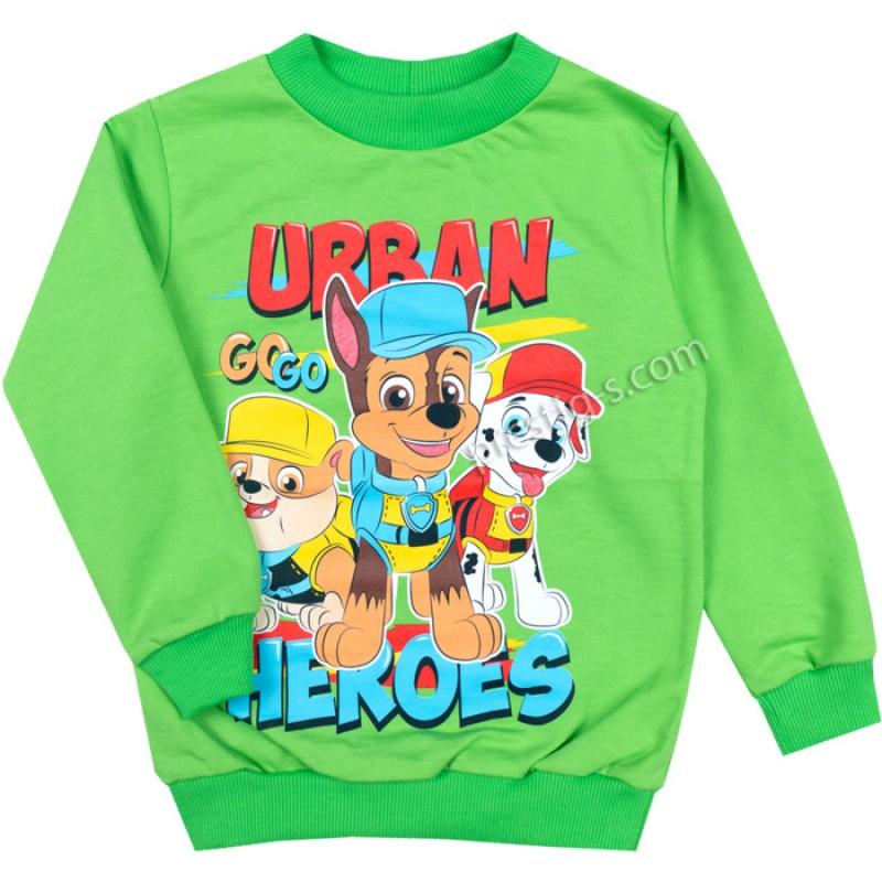Блуза д.р. Urban в зелено /86-116/ ликра