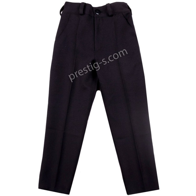 Черен панталон за момче /104-146/