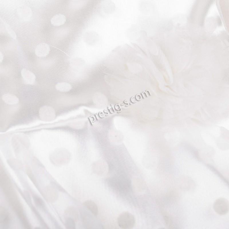Рокля на Точки с лента в екрю /80-98/ м.701 289