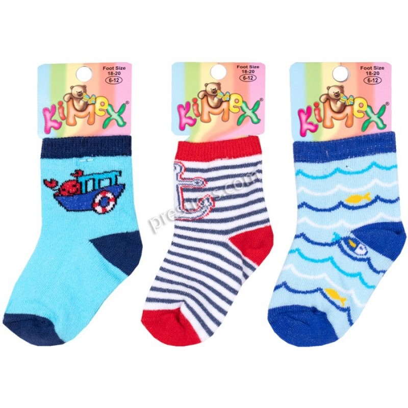 Бебешки чорапки Море м.131