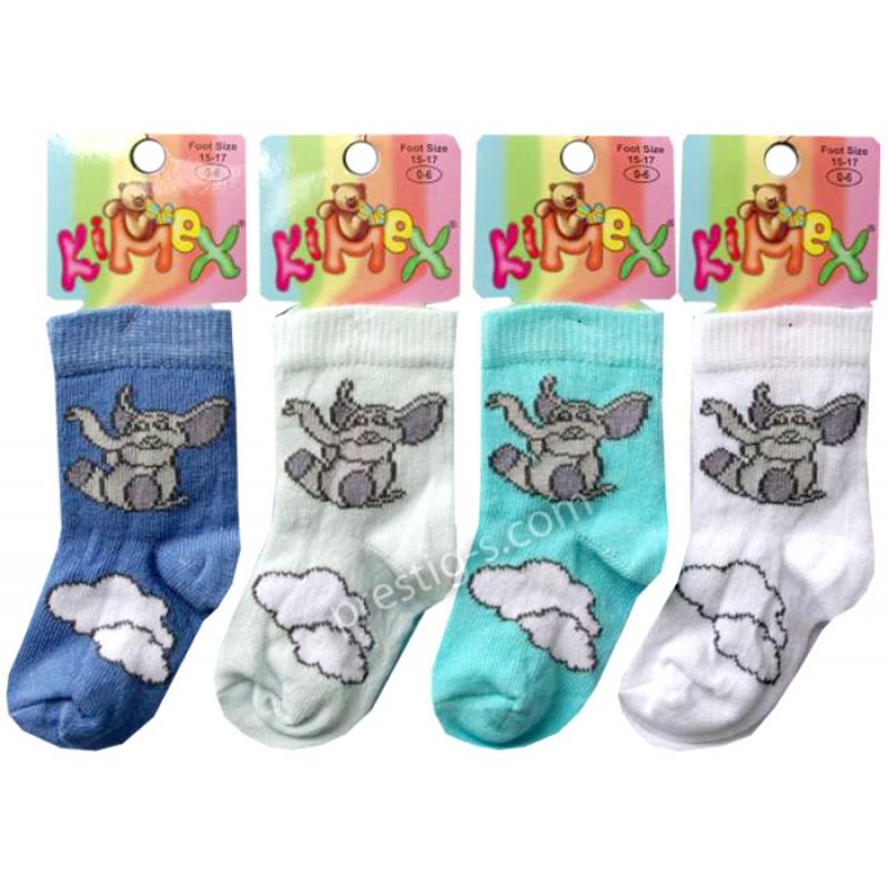 Чорапи момче Слонче на облак /№3/ м.111