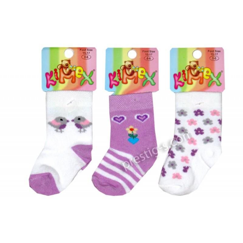 Чорапи момиче Пиленца и Цветя /№3/ м.115