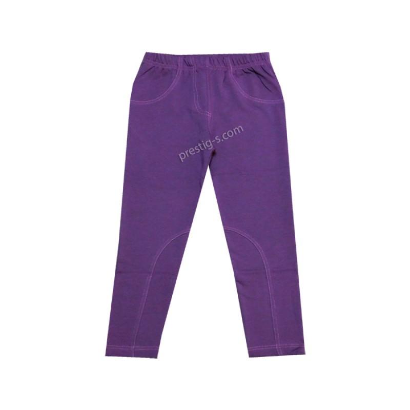 Клин панталон в лилаво /134-158/ л.вата-ликра