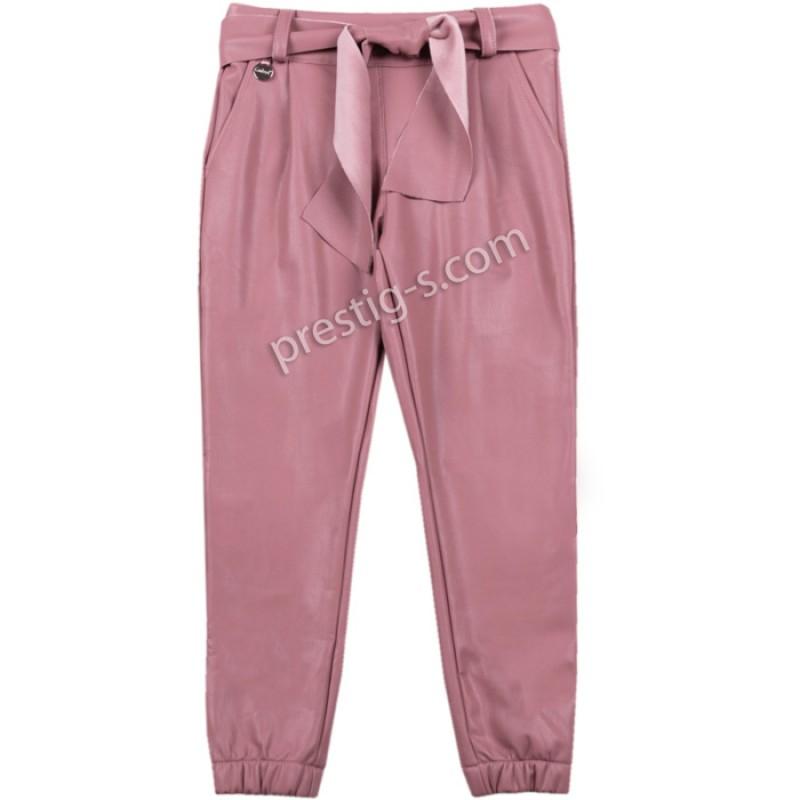 Кожен панталон Контраст в пудра /116-158/ м.201 270