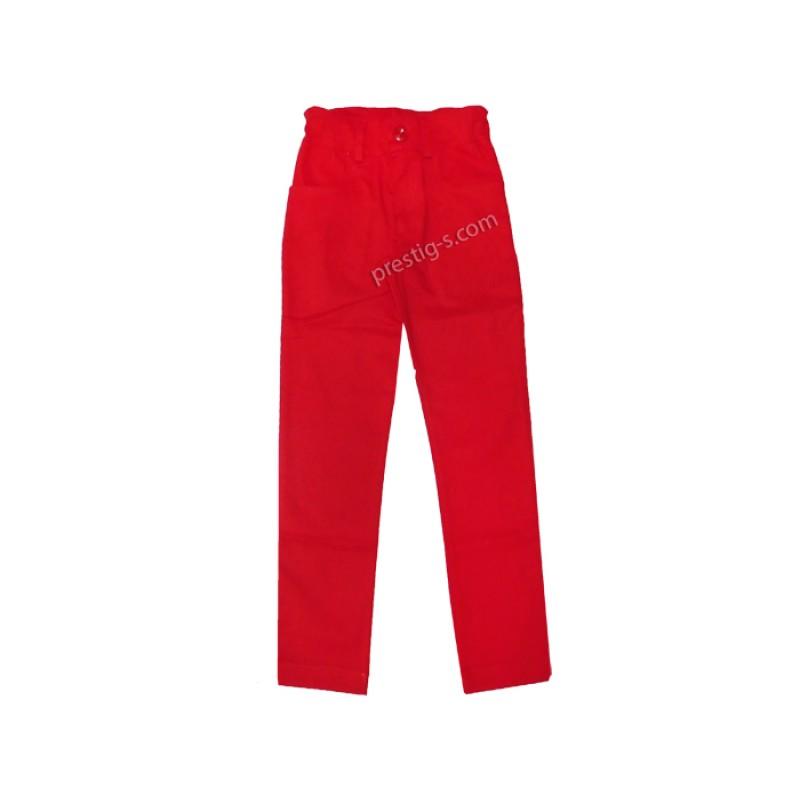 Панталон момиче в червено /98-140/ м.4872/73-2