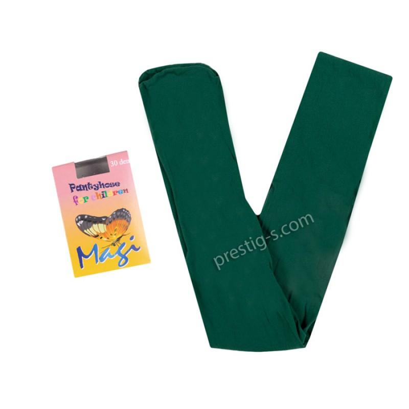 Чорапогащник Маги гладък 30 DEN /зелен/