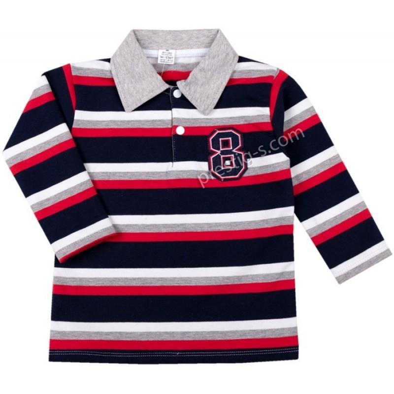 Риза д.р. Райе в червено /86-134/ л.вата ликра