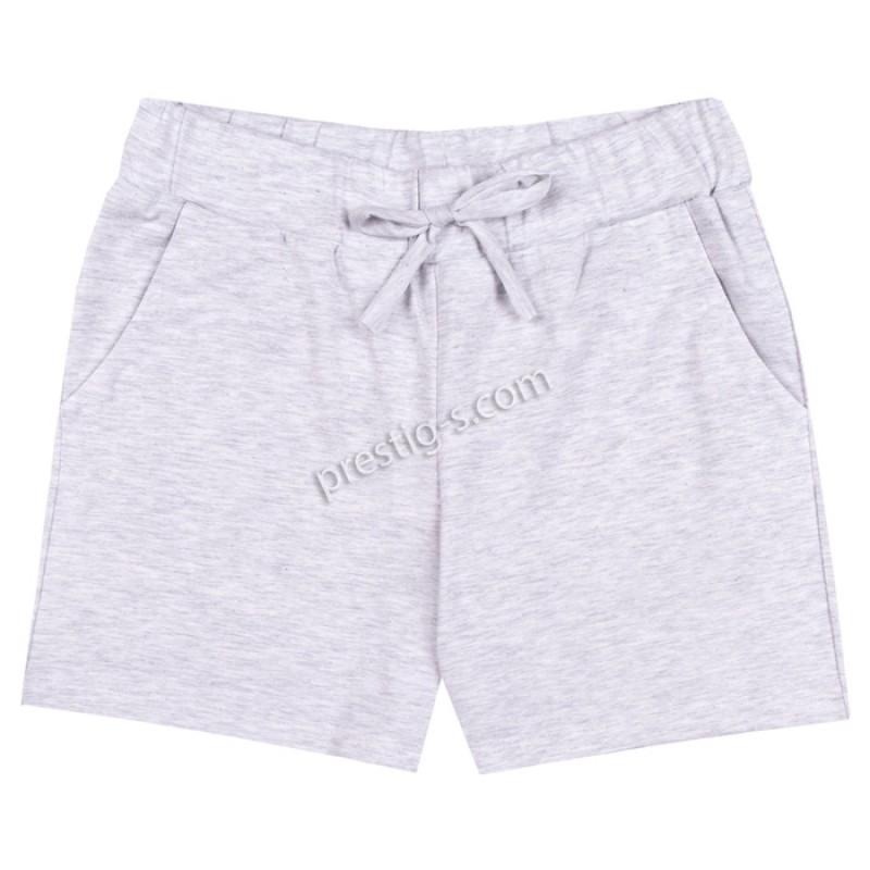 Къси панталонки Момиче в св.сив меланж /140-170/ м.201 022-2