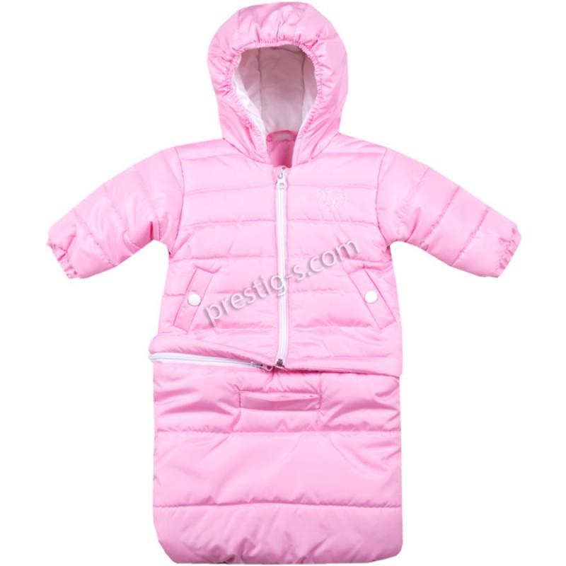 Бебешко яке-чувалче Вега-М в розово