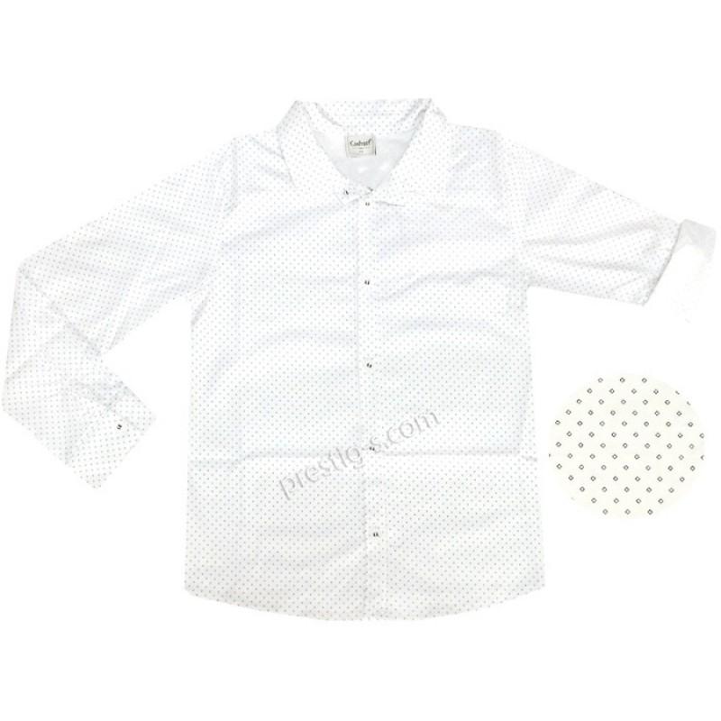Риза с навиващ се ръкав м.601 062-1 /158-170/ ромбове