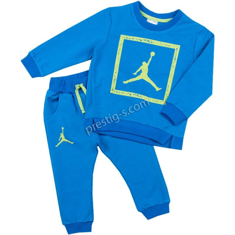 Комплект Баскетболист в синьо м.20240 /68-116/ ликра