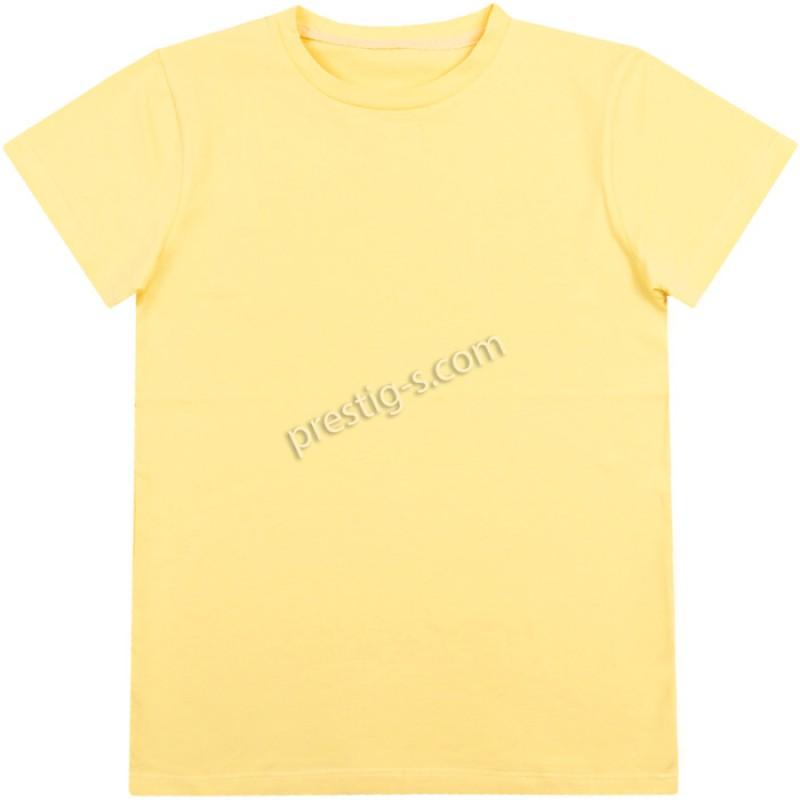 Тениска в жълто /134-152/ ликра