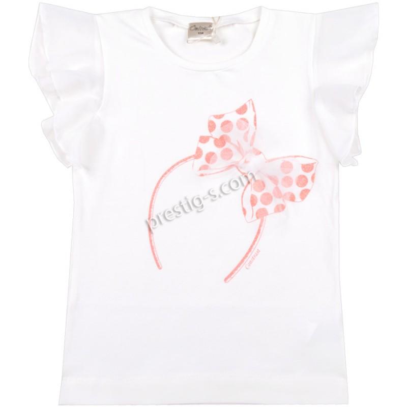 Блуза крилца Панделка в екрю /128-146/ м.601 300