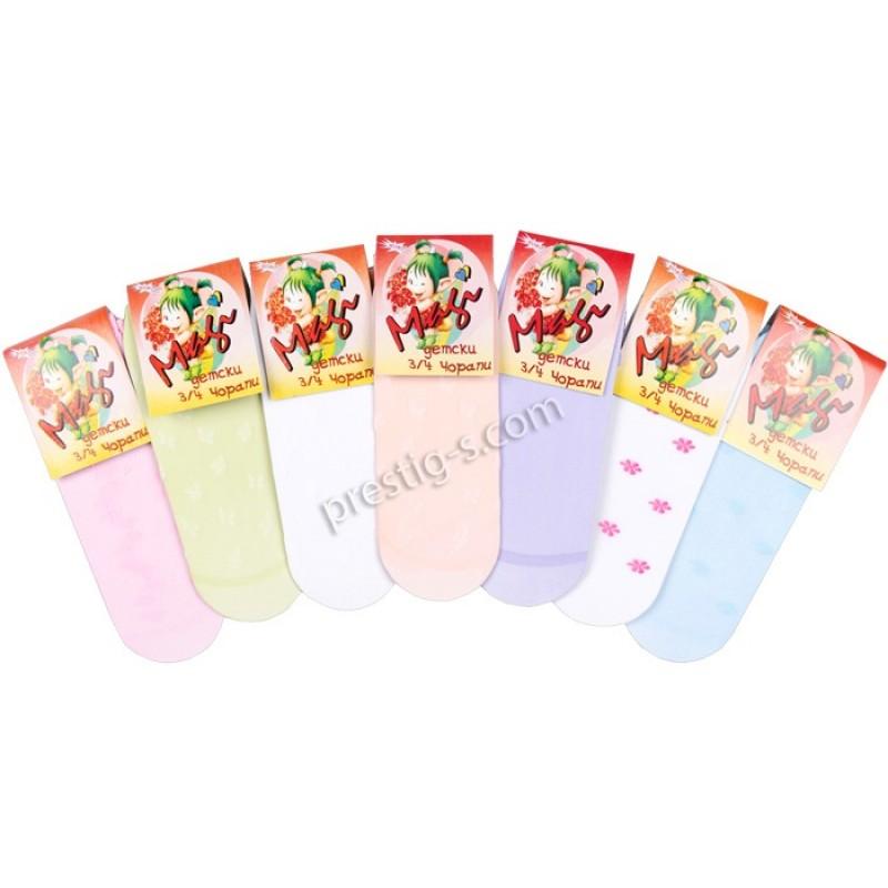 Детски 3/4 чорапи Азера - 20 DEN /3-12 год./