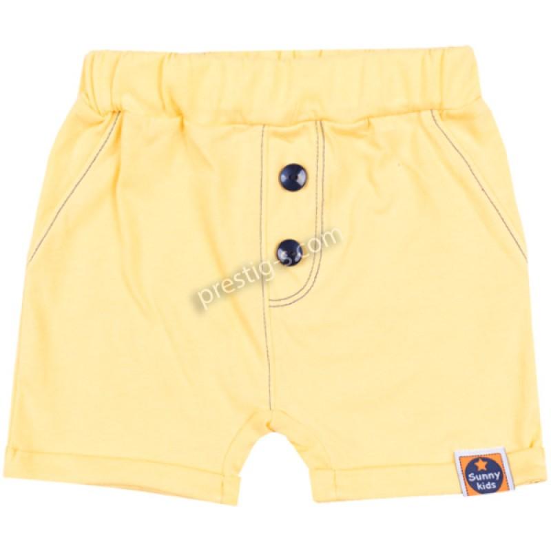 Къс панталон Боби /62-80/ в жълто