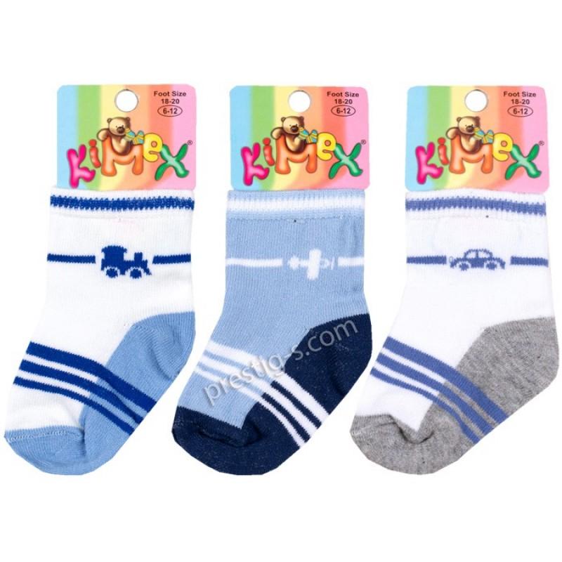 Бебешки чорапки Асорти м.900 193 / м.124