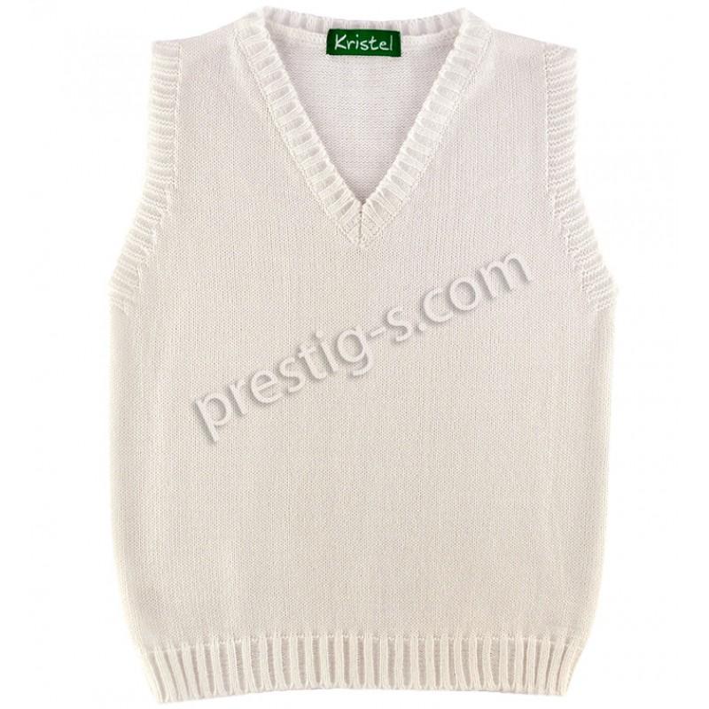 Пуловер момче Кристел в св.сиво /80-140/ м.5001-3