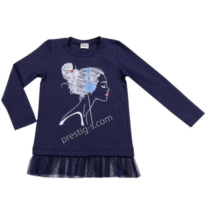 Туника /блуза/ д.р. Момиче в т.синьо/син /98-122/ м.601 117