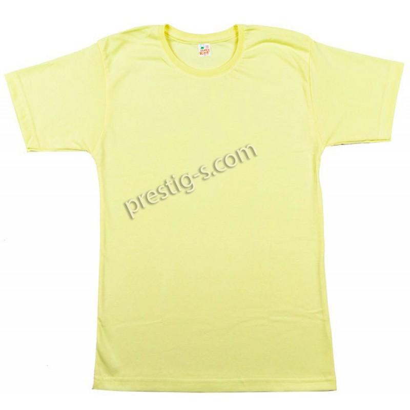 Тениска к.р. в жълто /122-152/ сингъл