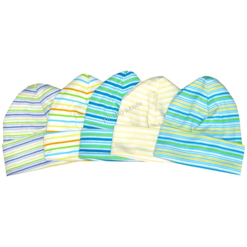 Бебешка шапка рипс райе Момче-Сиси Ди